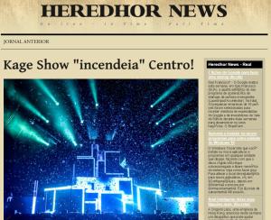 HEREDHOR NEWS EDIÇÃO IX