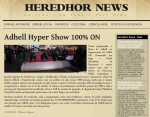 HEREDHOR NEWS EDIÇÃO VI