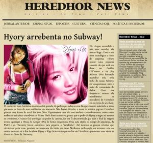 HEREDHOR NEWS EDIÇÃO V