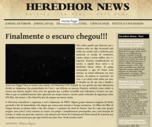 HEREDHOR NEWS EDIÇÃO IV