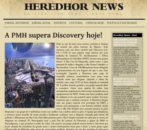 HEREDHOR NEWS EDIÇÃO III