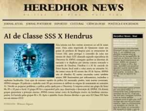 HEREDHOR NEWS EDIÇÃO I